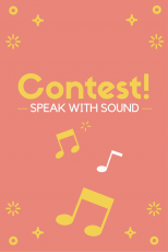 Speak with Sound Contest