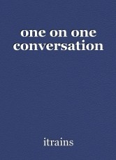one on one conversation