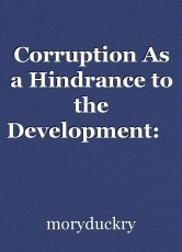 Corruption As a Hindrance to the Development:    A case of Liberia #(1)
