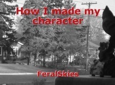 How I made my character
