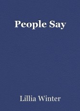 People Say