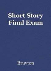 Short Story Final Exam