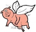 Porky Takes To The Sky!