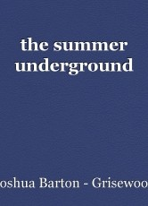 the summer underground