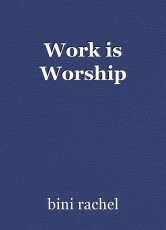 Work is Worship