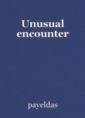 Unusual encounter