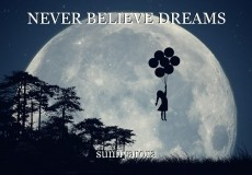 NEVER BELIEVE DREAMS