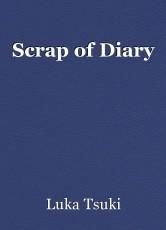 Scrap of Diary