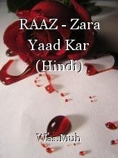 RAAZ - Zara Yaad Kar (Hindi)