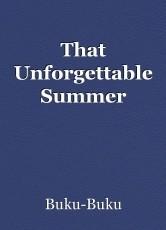 That Unforgettable Summer