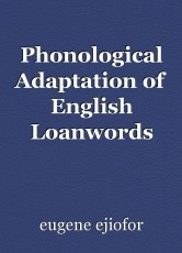 Phonological Adaptation of English Loanwords