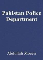 Pakistan Police Department
