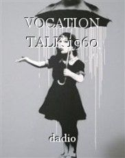 VOCATION TALK 1960