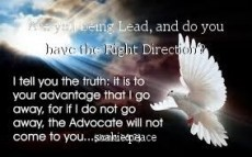 Are you being Lead, and do you have the Right Direction?