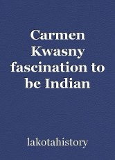 Carmen Kwasny fascination to be Indian police chief