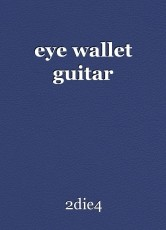 eye wallet guitar