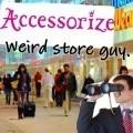 Weird store guy.