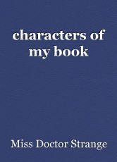 characters of my book