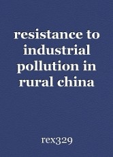 resistance to industrial pollution in rural china