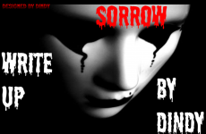 SORROW=>WRITE UP BY DINDY