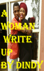 A WOMAN=>WRITE UP BY DINDY