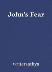 John's Fear