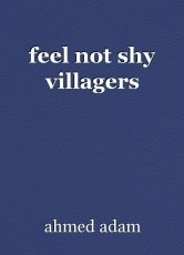 feel not shy villagers