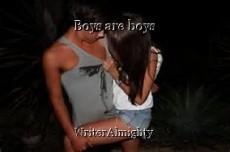 Boys are boys