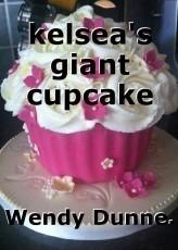 kelsea's giant cupcake