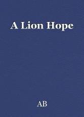 A Lion Hope