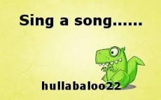 Sing a song......