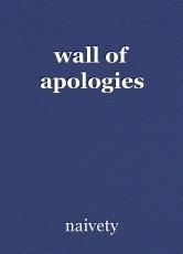 wall of apologies
