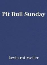 Pit Bull Sunday