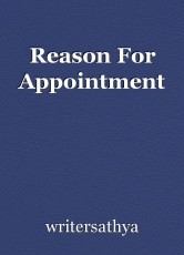 Reason For Appointment