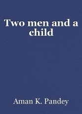 Two men and a child