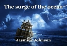 The surge of the ocean