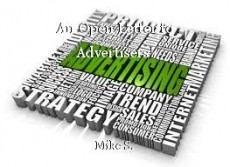 An Open Letter to Advertisers!