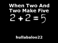 When Two And Two Make Five