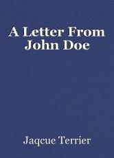 A Letter From John Doe