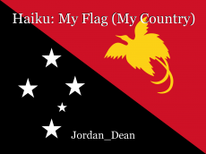 Haiku: My Flag (My Country)
