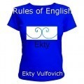 Rules of English