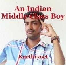 An Indian Middle Class Boy