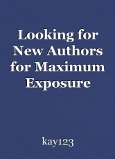 Looking for New Authors for Maximum Exposure