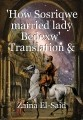 'How Sosriqwe married lady Bedexw'  Translation & Annotation by