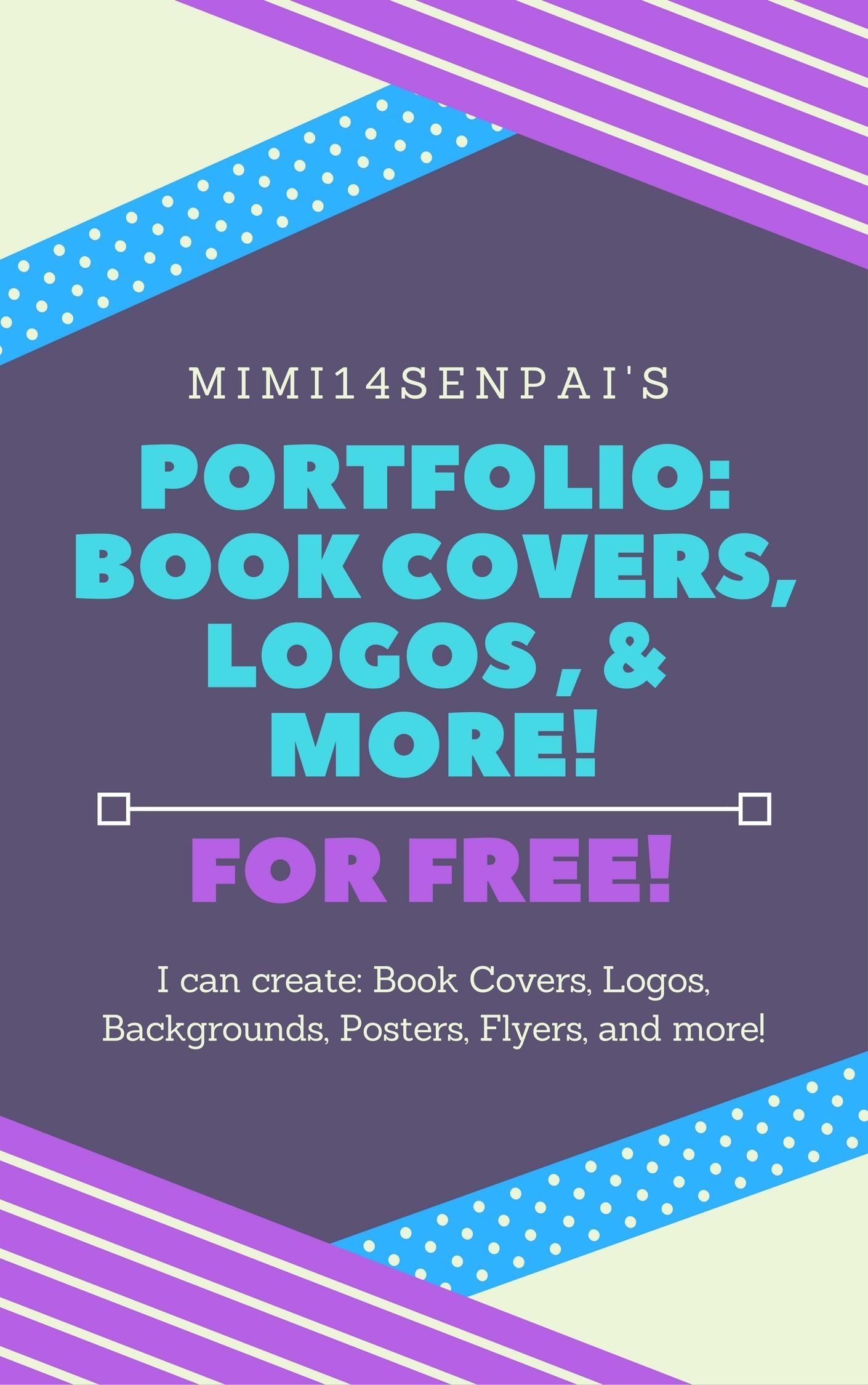portfolio book covers logos etc book by mimi14senpai