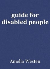 guide for disabled people
