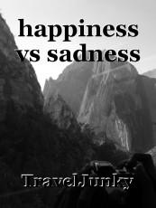happiness vs sadness