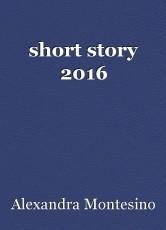 short story 2016