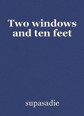 Two windows and ten feet