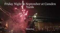 Friday Night in September at Camden Yards